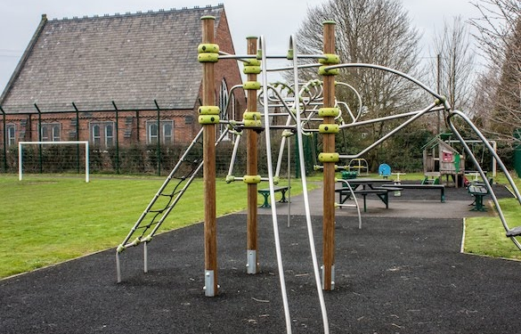 Lostock Green village playground