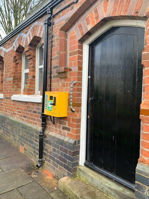 Lostock Green AED Defibrilator
